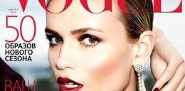 """Takie rzeczy tylko w Rosji! Modelce obcięli rękę! I to na okładce """"Vogue""""!"""