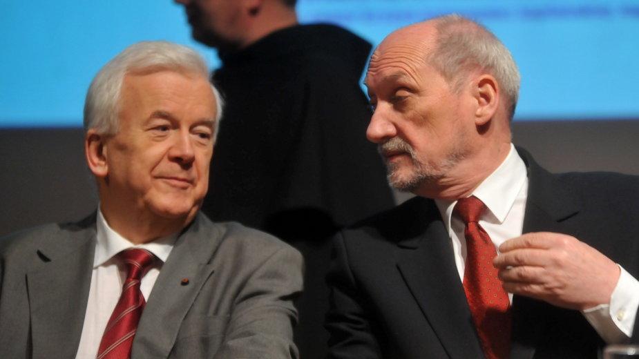 Janusz Kawecki i Antoni Macierewicz