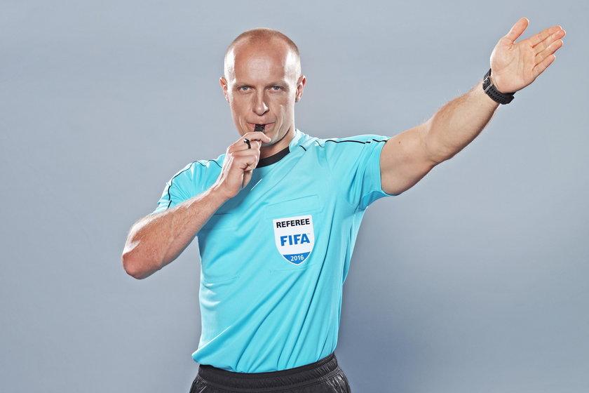 Szymon Marciniak wystąpi w meczu o Superpuchar Europy