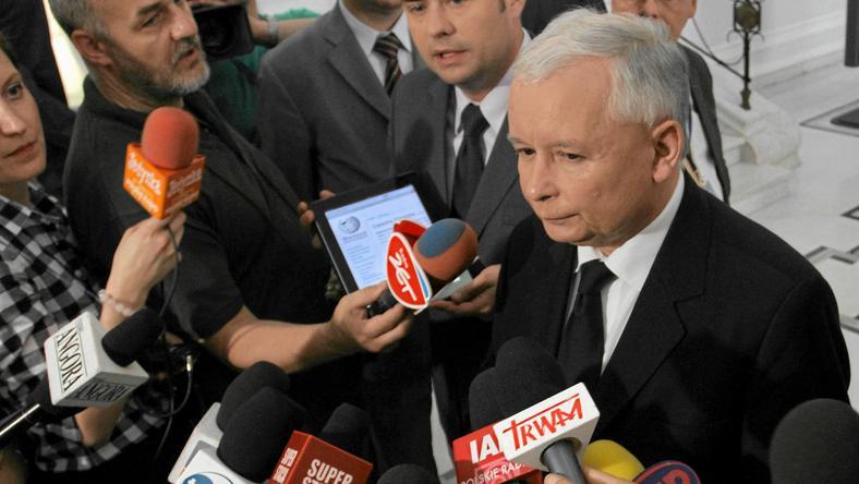 Jarosław Kaczyński, fot. Sławomir Kamiński / Agencja Gazeta