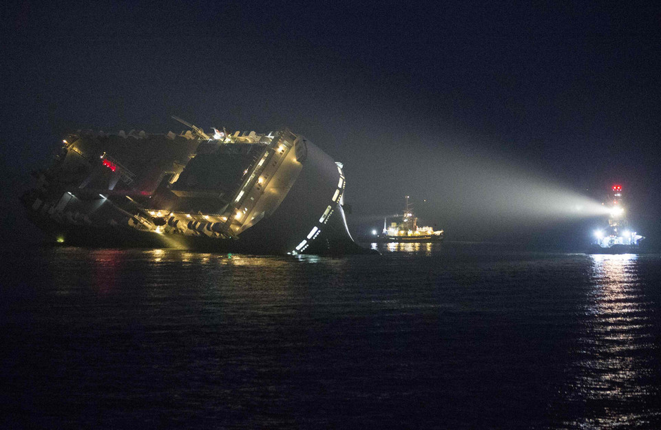 REUTERS - TRANSPORT DISASTER TPX IMAGES OF THE DAY