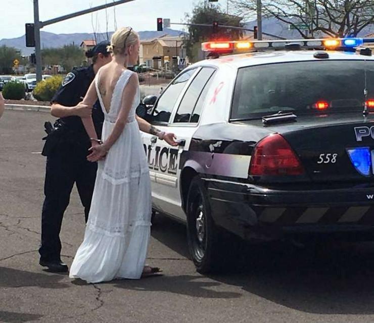 uhapšena mlada