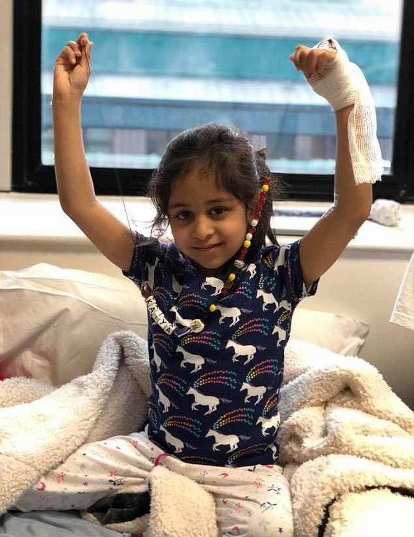 Anglia. Pięcioletnia Kaiya Patel umiera na białaczkę