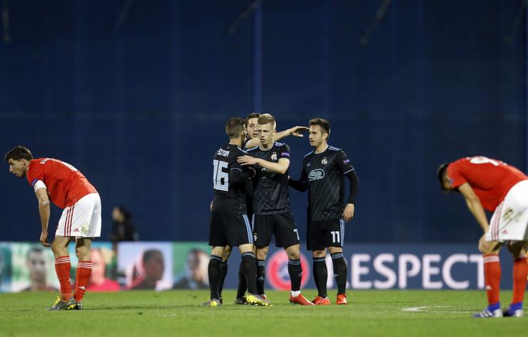 FK Dinamo Zagreb, FK Benfika