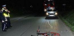 Rowerzysta śmiertelnie potrącił pieszego