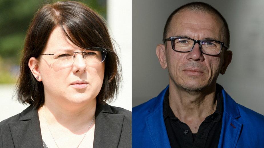 Kaja Godek (East News, fot. JACEK DOMINSKI/REPORTER) i Waldemar Tatarczuk