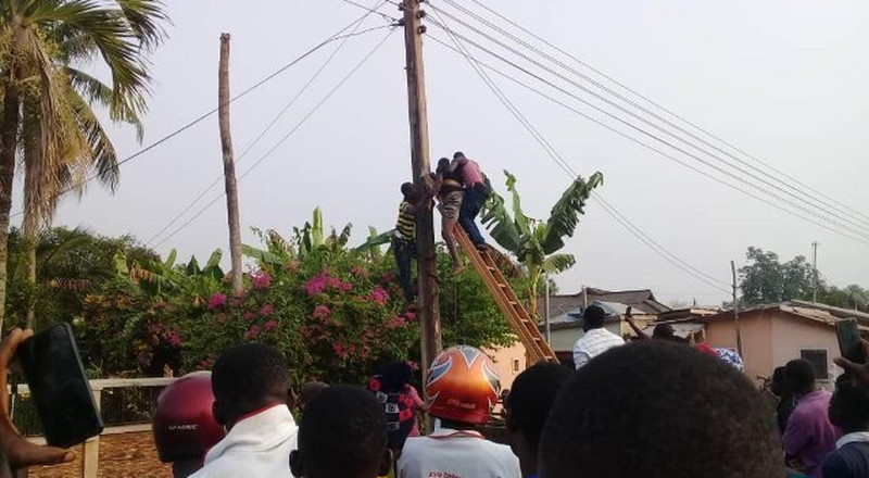 33-year-old man dies on ECG pole in Kpando
