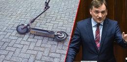 Minister Ziobro robi porządek z hulajnogami. Słusznie?