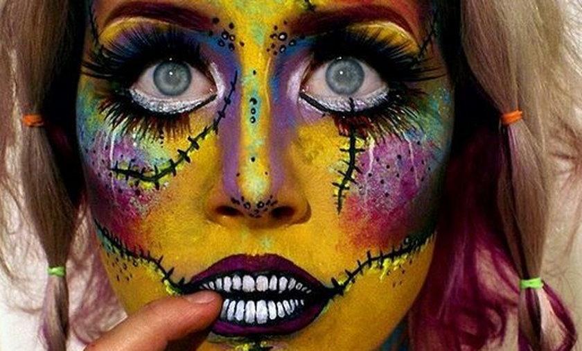 Najbardziej ekstremalne makijaże na halloween.