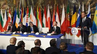 Tusk: Wspólne zasady fundamentem jedności europejskiej