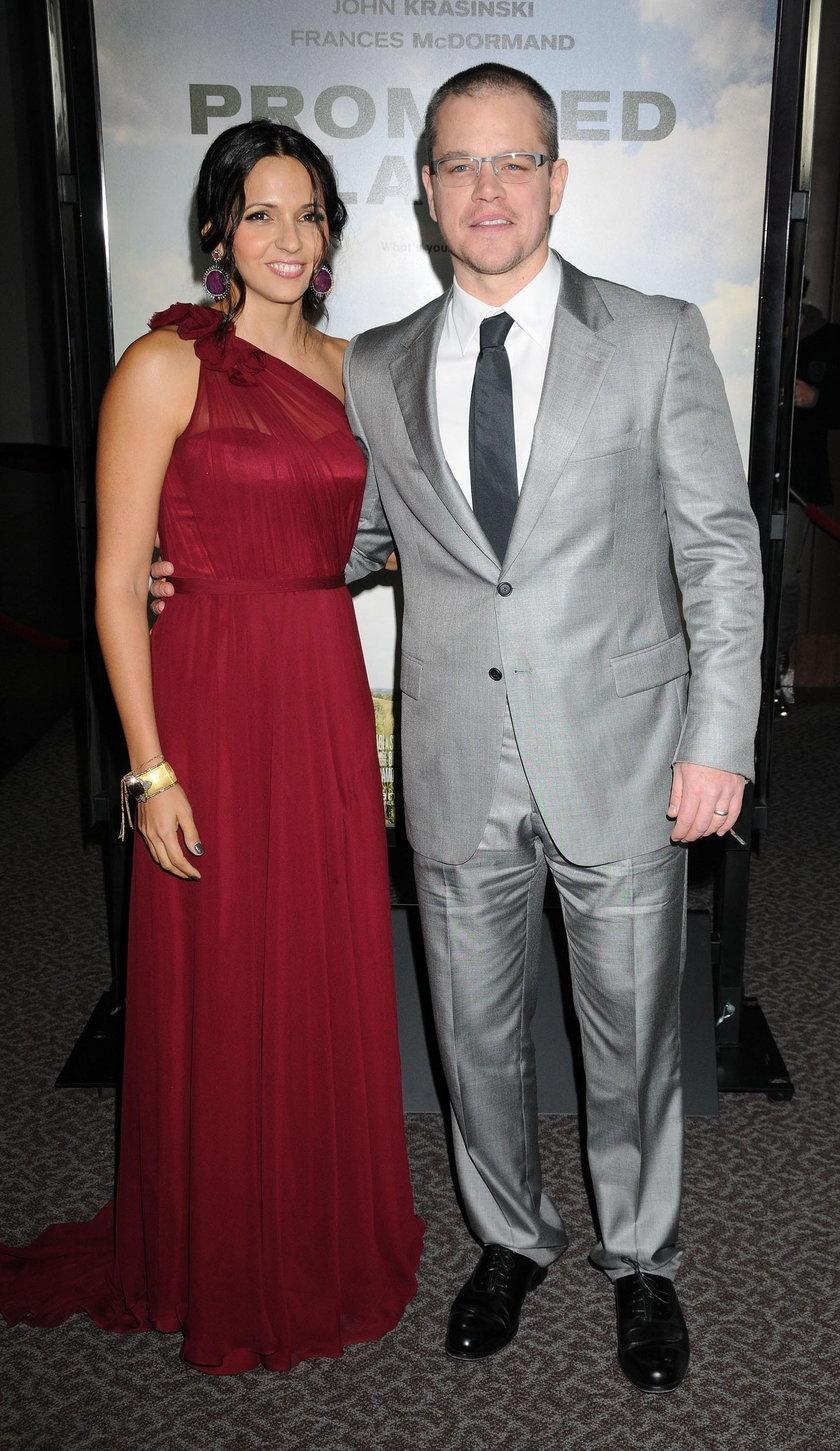 Luciana Barroso i Matt Damon