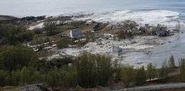 Osiem domów nagle runęło do morza. Przerażające nagranie