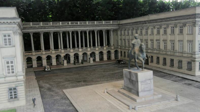 Miniatura Pałacu Saskiego