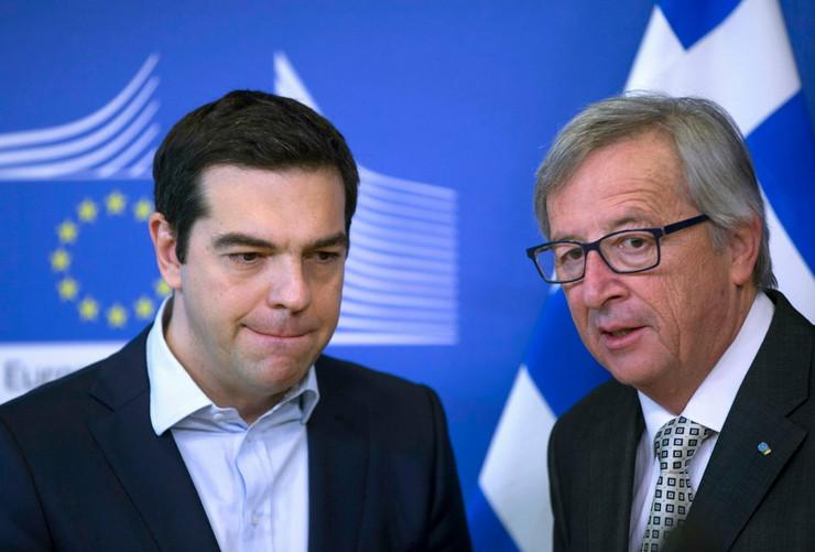 Nadjačavanje:Aleksis Cipras i Žan Klod Junker