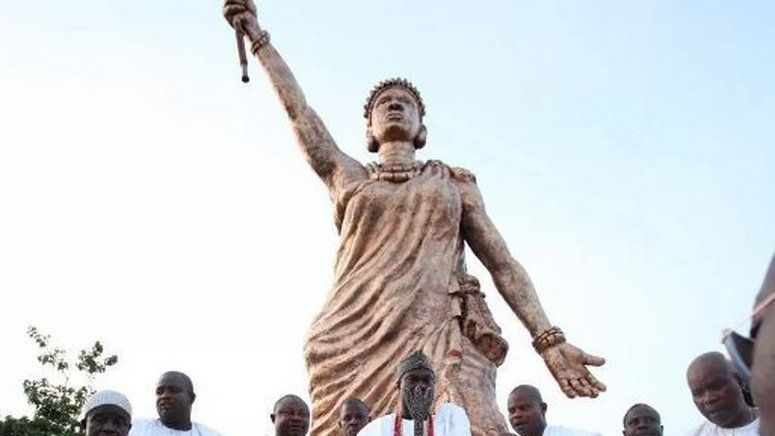 Queen Moremi statue of Liberty, Nigeria