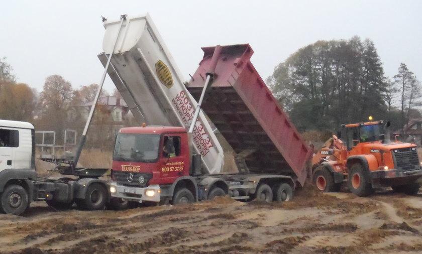 Strażnicy miejscy odkryli nielegalny wywóz odpadów budowlanych