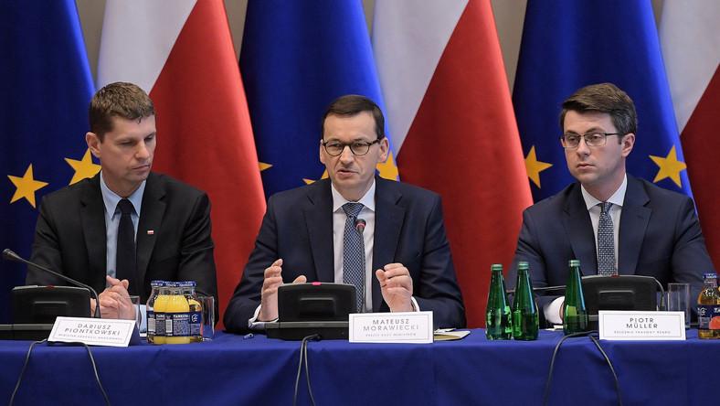 Mateusz Morawiecki, Dariusz Piontkowski, Piotr Mueller
