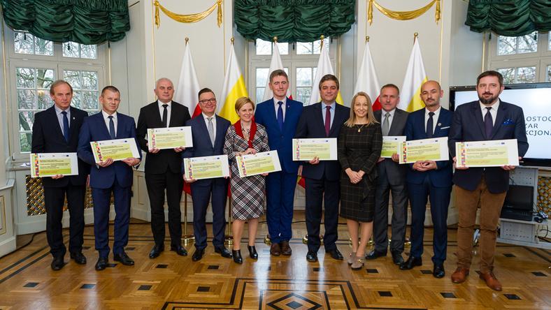 Białystok i ościenne gminy zrealizują projekt niskoemisyjnego transportu