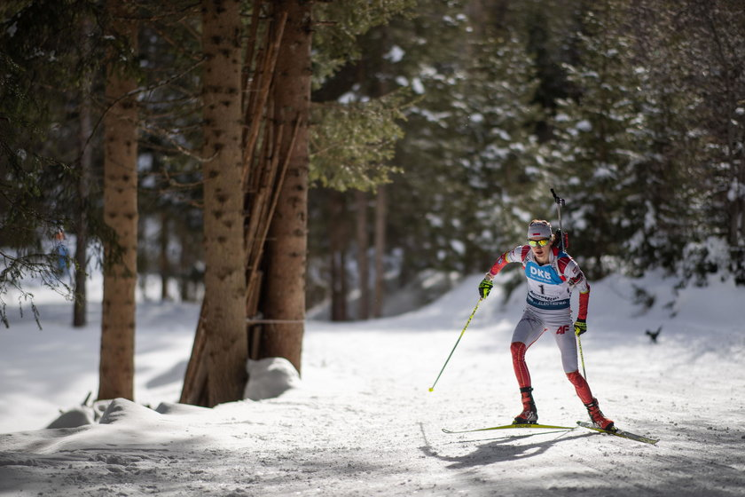 Polki zajęły siódme miejsce w biegu sztafetowym 4x6 km