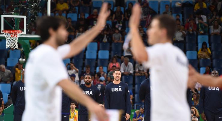Košarkaška reprezentacija Srbije, Košarkaška reprezentacija SAD
