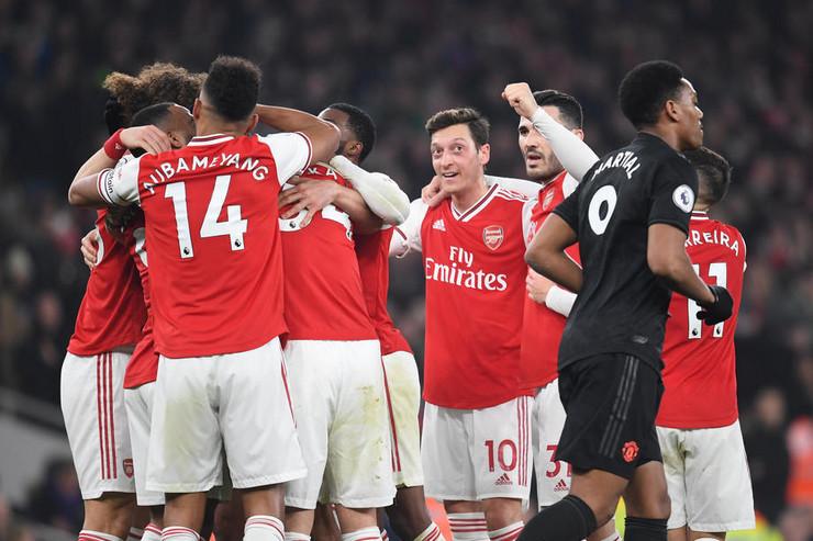 FK Arsenal - FK Mančester junajted