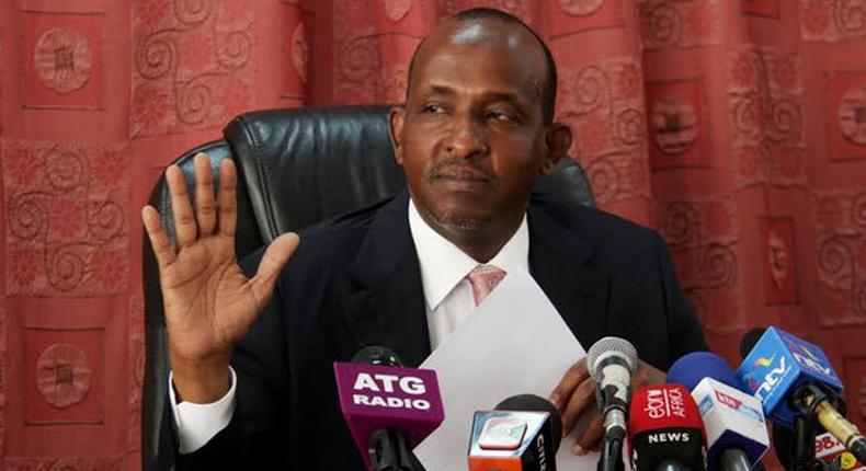 File image of Aden Duale