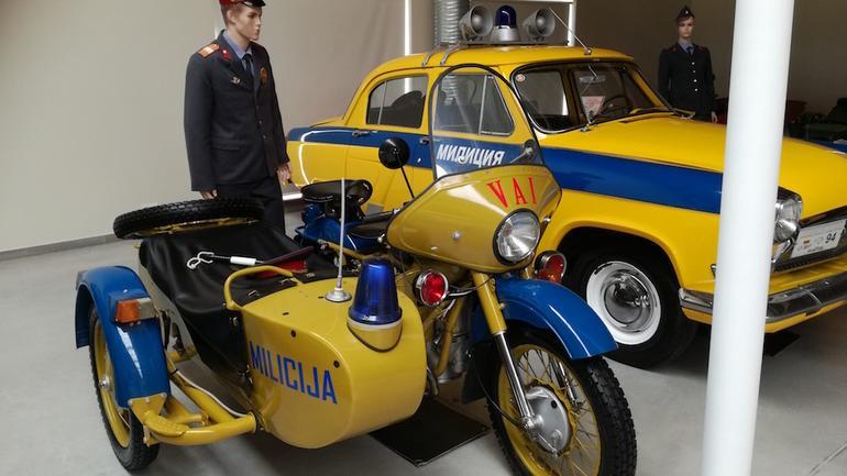 Muzeum motoryzacji na Litwie
