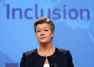 Unijna komisarz Johansson będzie rozmawiała z ministrem Kamińskim o sytuacji na granicy polsko-białoruskiej