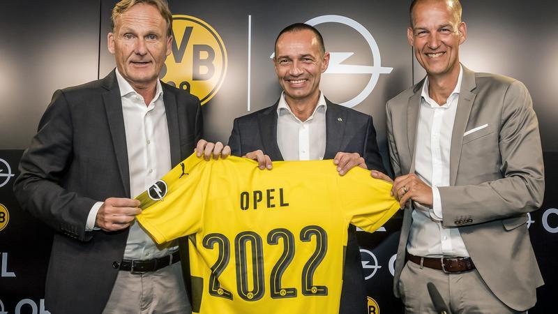 Opel z Borussią Dortmund