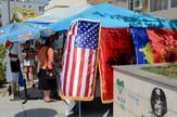 velika albanija04 zastave pristina kosovo foto RAS Srbija M. Ilic