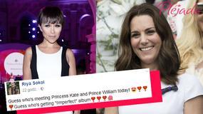 Księżna Kate otrzymała płytę polskiej piosenkarki. Wychwala ją m.in Kamilla Baar