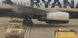 Zderzenie samolotu z Ryanair z Polakami na pokładzie
