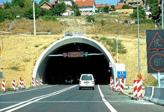 Tunel Straževica, jedan od najvećih u Beogradu