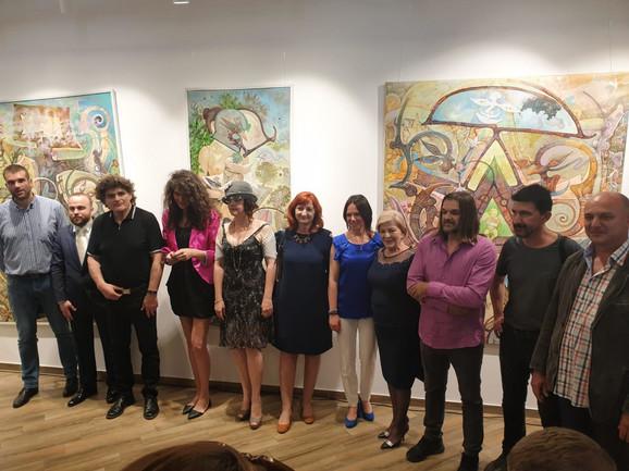 Srpski umetnici u Minsku
