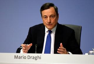 """Na hasło """"Draghi"""" rynki finasowe zareagowały entuzjastycznie"""