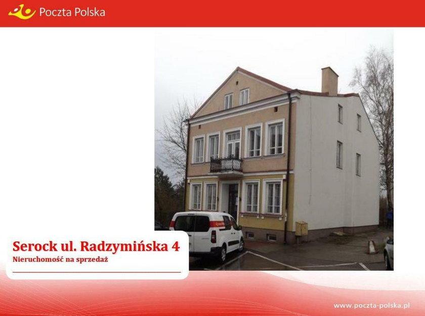 Budynek Poczty Polskiej z Serocka