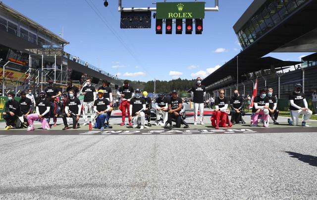 Scena pred početak prve trke Formule 1 u sezoni 2020.