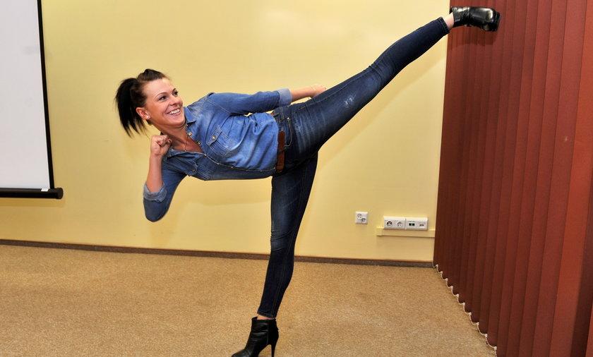 Sierżant Marta Mysur jest trzykrotną mistrzynią Europy w taekwondo
