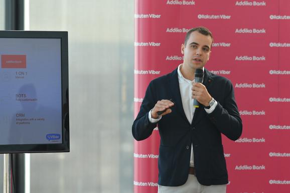 Momčil Elenkov, menadžer iz Vajbera, Global Telecom Partnership