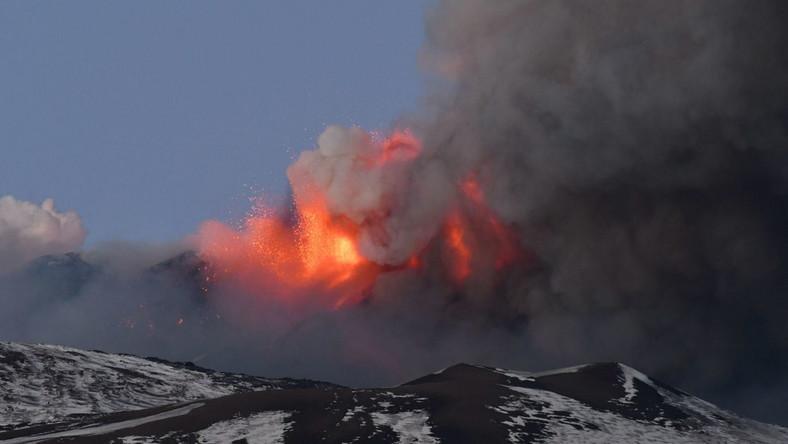 Etna EPA/ORIETTA SCARDINO Dostawca: PAP/EPA.