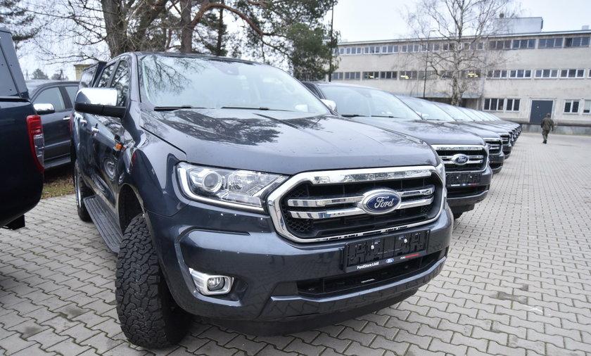 Ford Ranger w konfiguracji XLT
