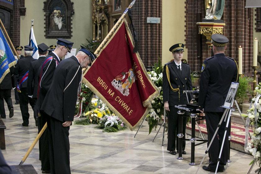 Rybnik. Pogrzeb byłego prezydenta Rybnika Adama Fudalego (†67l.)