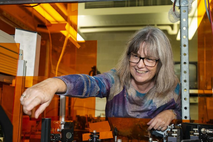 Donna Strickland Nobel Prize for Physics