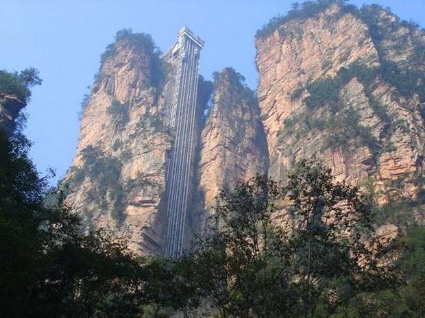 "Winda Bailong (""Winda Stu Smoków"") w Wulingyuan"