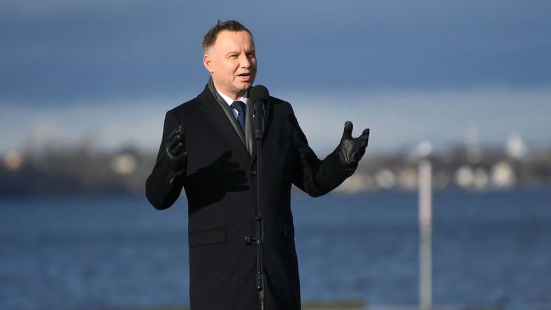 Andrzej Duda w Pucku