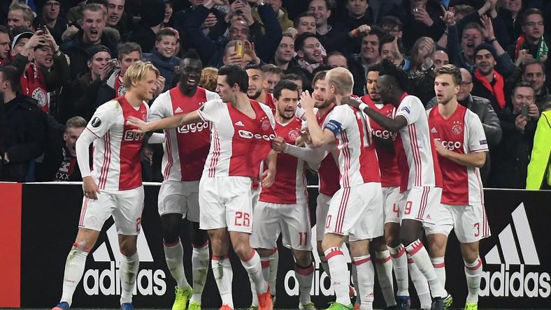 Zawodnicy Ajaksu Amsterdam