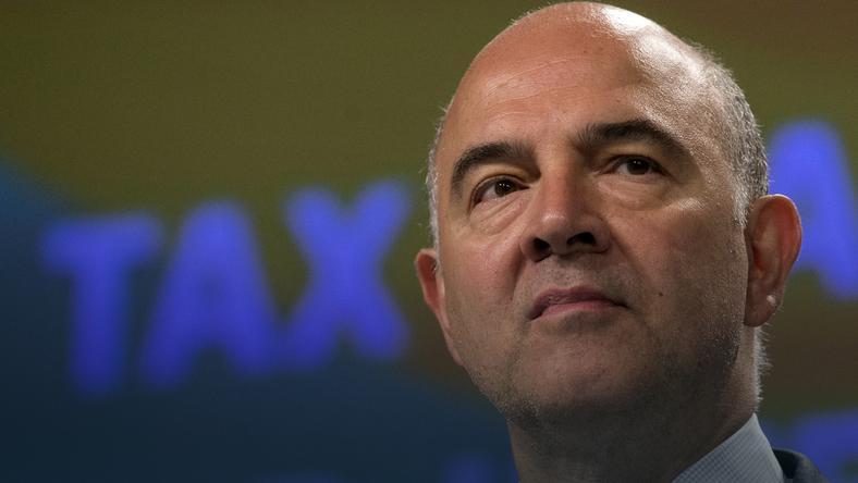 Pierre Moscovici - komisarz UE ds. gospodarczych, finansowych, podatków i ceł