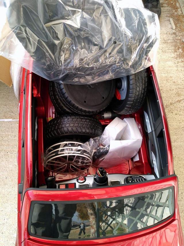 Vrednost zaplenjenih dečjih automobila i motorcikala na baterije premašuje 25.000 dolara