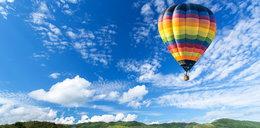 Balon zapalił się w czasie lotu. Na pokładzie było pięć osób!