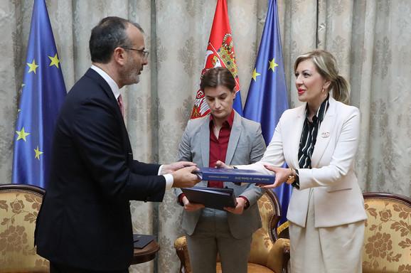 Fabrici, Brnabić i Joksimović